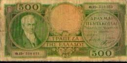 Grèce - 500 Drachmes - Grèce