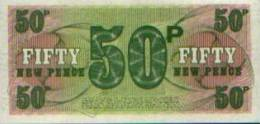 Royaume-Uni - British Armed Forces - 50 New Pence - Emissions Militaires