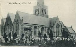N°23123 -cpa Westvleteren -l'église- - Vleteren