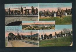 GUERRE 1914-18 - Gruss Aus NEUHAMMER (ALLEMAGNE) - Kriegsgefangenenlager, Mit Arbeiten Beschäftigte Russen - Weltkrieg 1914-18