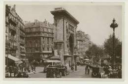 PARIS : La Porte Saint Denis, 1933, Très Animée, Automobiles (Z0584) - France