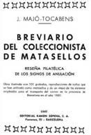 """EBook: """"Breviario Del Coleccionista De Matasellos"""" Por Majó Tocabens - Matasellos"""