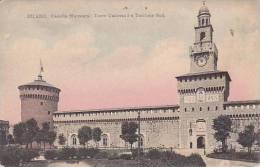 Italy Milano Castello Sforzesco Torre Umberto l e Torrione Sud