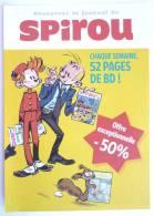 FLYERS JAUNE JOURNAL SPIROU 2009 - MUNUERA - SPIROU ET FANTASIO - Oggetti Pubblicitari
