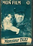 "MON FILM (1952) : ""MONSIEUR TAXI"", Michel Simon, Jane Marken, Jean Carmet, Jean Brochard, Pauline Carton, Marilyn Monroe - Colecciones"