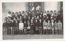 31 - Toulouse - Lalande, 1er Octobre 1933, Carte Photo Classe De Filles, Ecole - Toulouse