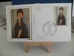 *FDC - Modigliani - 60 Creil - 25.10.1980 France - Coté 3 € - FDC