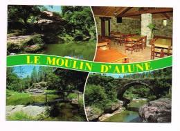 RIBES   ( Ardèche  )  LE MOULIN D'ALUNE......Vues... Multi-Vues... - France