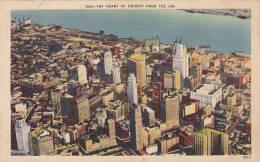 Michigan Detroit 250 Aerial View