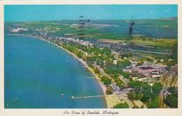 Michigan Beulah Air View Of Beulah 1960