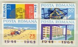 Romania MNH Set And SS - 1948-.... Republics
