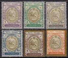 IRAN PERSIA 1909 LOT - Iran