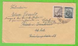 Sur Enveloppe - AUTRICHE - 2 Timbres - Cachet RIED I. INNKREIS - 1918-1945 1. Republik