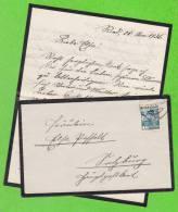 Sur Enveloppe + Lettre écrite Le 28-11-1936 - AUTRICHE - 1 Timbre - 1918-1945 1. Republik
