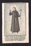 INCISIONE: S. LUIGI GONZAGA - Mm.80X120 - Religion & Esotérisme