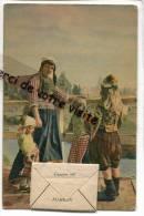 - MARKEN - Carte A Système, Groeten Uit, 5 Petites Vues, Non écrite, Joli Cachet Bleu Au Verso, Rally 1947, TBE, Scans. - Marken