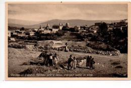 REf 85 CPA  Union Postale Palestine GALILEE Cana Where Jesus Changed Water In Wine - Palestine