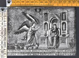 E1750 Roma, Basilica Di S. Maria In Trastevere -  L´ Annunciazione, Mosaico Dell´ Abside - Mozaïek, Mosaïque, Mosaic - Quadri, Vetrate E Statue