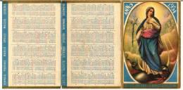 CALENDARIETTO - ANNO 1954 - Mm. 65X98 - Religione & Esoterismo