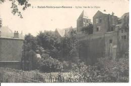 2. SAINT VALERY SUR SOMME. EGLISE VUE DE LA DIGUE. - Saint Valery Sur Somme