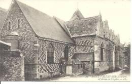 40. SAINT VALERY SUR SOMME. L' ABSIDE DE L' EGLISE. LL. - Saint Valery Sur Somme