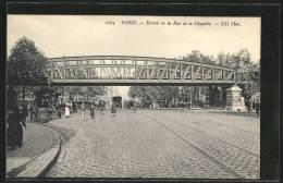 CPA Paris, Entree De La Rue De La Chapelle, Pferdekutschen - Sin Clasificación