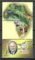 Egypt, 2009 ( F.W. De Klerk - Nobel Prize Winner - Peace 1993 ) - MNH (**) - Nobelpreisträger