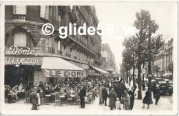 PARIS-MONTPARNASSE - Le Dôme (animée) - N° 37 - District 14