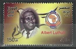 Egypt, 2009 ( Albert Luthuli  - Nobel Prize Winner - Peace 1960 ) - MNH (**) - Nobelpreisträger