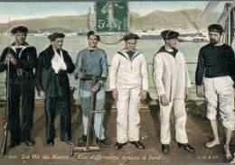 (401) - Warship - Bateau De Guerre - La Ve Du Marin - France Marine - Poster En 1909 - Dampfer
