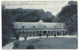 ECAUSSINES - D'ENGHIEN Château De La Follie - Les Ecuries (Ecaussinnes Avec Erreurs De Typographie - SBP N°9 RRR) Rare - Ecaussinnes