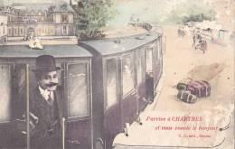 J'Arrive à CHARTRES Et Vous Envoie Le Bonjour - Chartres