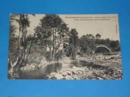 CPA 43 ST ROMAIN LACHALM Pont De Faridouy Sur La Semene Rare - France