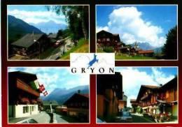 Suisse        Gryon. 4 Vues  . - Suisse
