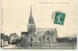 CELLETTES  -  Le Presbytère Et L'église. - France