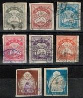 Japon - 1923 - Y&T N° 175 à 178 Et 180 à 183, Oblitérés - Oblitérés