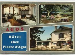 CPSM 65 AGOS VIDALOS HOTEL CHEZ PIERRE D AGOS   Grand Format - Autres Communes