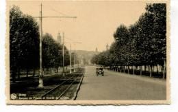 """Ancienne Cp """"Mons, Avenue De France Et Entré De La Ville""""cp Non Voyagée - Mons"""