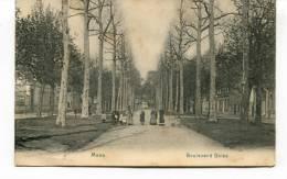 """Ancienne Cp """"Mons, Boulevard Dolez ( Animée)  """" Avec Valeur Et Cachet 1909 +13 - Mons"""