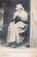 CPA 1900 : AUXERRE LES CHESNEZ UNE NONAGENAIRE BOURGUIGNONE FOLKLORE DE BOURGOGNE 89 YONNE - Auxerre