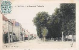AUXERRE BOULEVARD VAULABELLE 89 YONNE - Auxerre