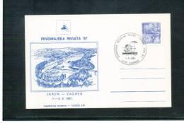Jugoslawien / Yugoslavia 1987 Rudersport / Rowing Zagreb International Regatta - Rudersport