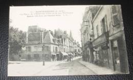 Montrichard  - La Place De L'hôtel De Ville Et La Rue Nationale :::::: Animation - Montrichard