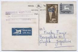ISRAEL - Tel - Aviv, 1957. Postal Stationery To Yugoslavia - Unclassified