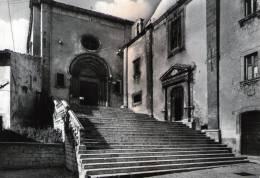 """Bellissima Cartolina  Anni  60  """"   Pescocostanzo (L'Aquila ) M.1400 S.m. - Chiesa Collegiata S.Maria Del Colle """"  """" - L'Aquila"""