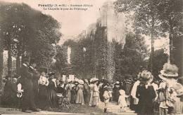 EGLIGNY   ( 77 )  - Ancienne Abbaye De PREUILLY   - La Chapelle Le Jour Du Pélerinage - Non Classés