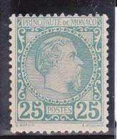 MONACO - 1885 - YVERT N°6 * CHARNIERE LEGERE - COTE = 1010 EUROS - Monaco