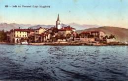 """Cartolina D'epoca  """" Isola Dei Pescatori (lago Maggiore) - Verbania"""