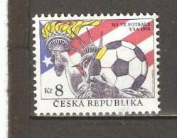 CZECH REPUBLIC 1994  - WORLD CUP FOOTBALL - MNH MINT NEUF NUEVO - Coppa Del Mondo