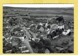 COURSON-LES-CARRIERES - VUE GENERALE - YONNE  89  N° 2 - CP NOIR-ET-BLANC DENTELLEE - Courson-les-Carrières
